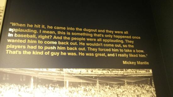 Roger Maris Museum: Mickey Mantle expresses his thoughts on Roger Maris
