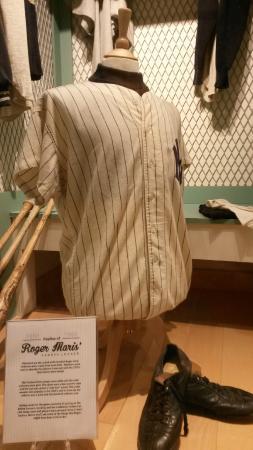 Roger Maris Museum: The Yankees uniform Maris wore