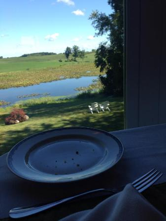 Allegan, MI: view from morning breakfast room