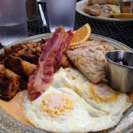 Melanie's Food Fantasy : Melanie's Breakfast