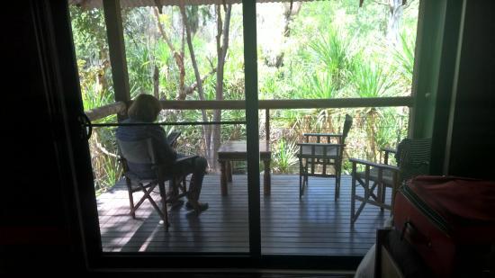 El Questro The Station: View riverside bungalow