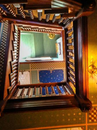Geiger Victorian Bed & Breakfast: Going Up?