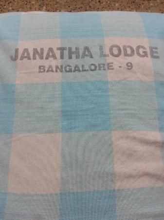 Janatha Lodge: Bed Full of Bed Bugs (Khatmal).