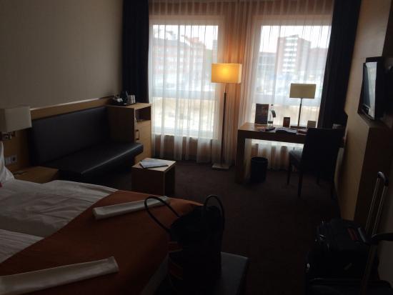 Atlantic Hotel: Værelset