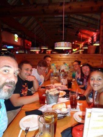 Texas Roadhouse Dinner W Ole Friends