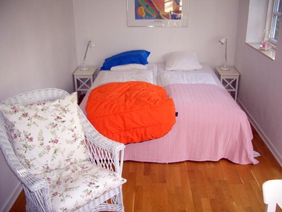 Blommenslyst Bed & Breakfast: Das Doppelbett