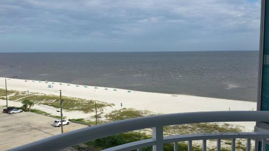 South Beach Biloxi Hotel Suites Balcony View Of