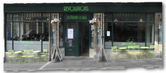 Revolutions Restaurant and Grill: 66 new Road Chippenham SN15 1ES