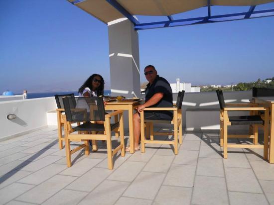 Semeli Hotel Apartments : Vista meravigliosa