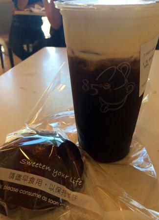 85 Degrees Bakery Cafe: The best drink! Watch out Starbucks!