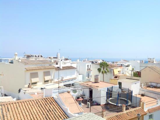 Hostal San Miguel: Вид с террасы