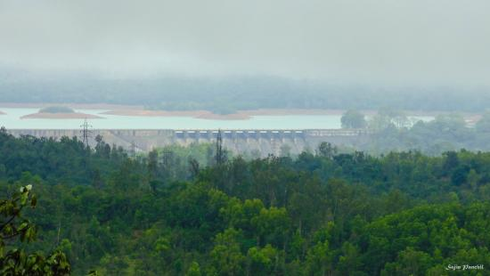 Shimoga, Indie: VIEW OF DAM