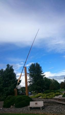 Houston, Kanada: World's Largest Fly Rod