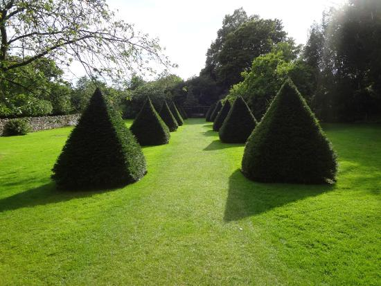 Kendal, UK: Garden behind the Castle