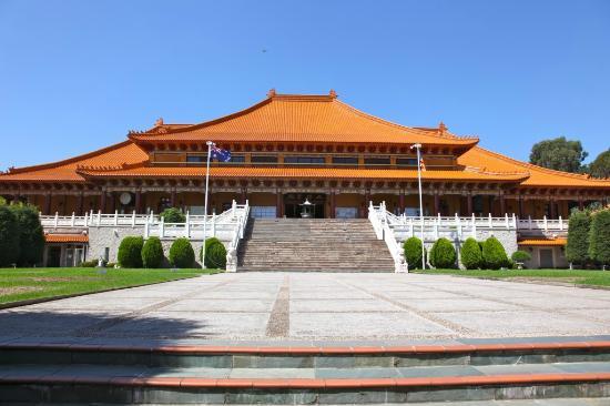 Nan Tien Temple Pilgrim Lodge: Main Shrine Nan Tien