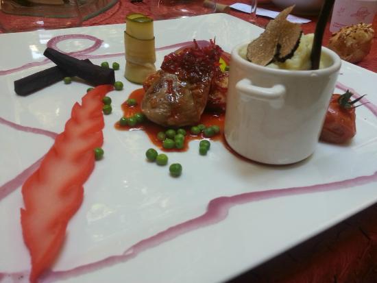 Poitrine de canette picture of la table d 39 emilie - Restaurant la table d emilie marseillan ...