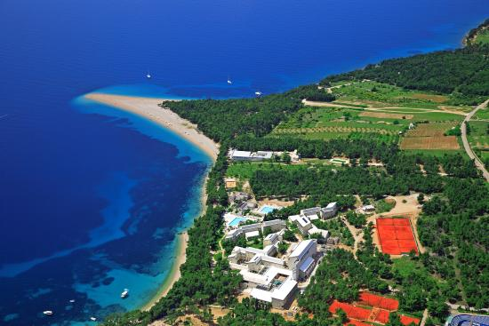 Bretanide Sport & Wellness Resort: BRETANIDE and Zlatni Rat beach