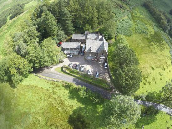 YHA Buttermere: From up high