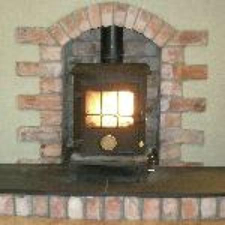 Ballycanal Self Catering: cosy wood burning stove