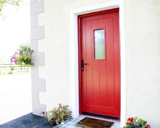 Ballycanal Self Catering: External door