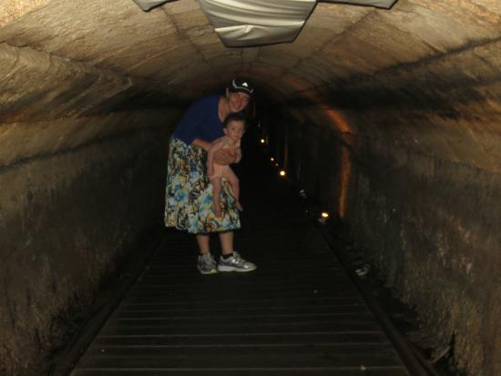 Templars Tunnel: Careful not to get your head bumped!