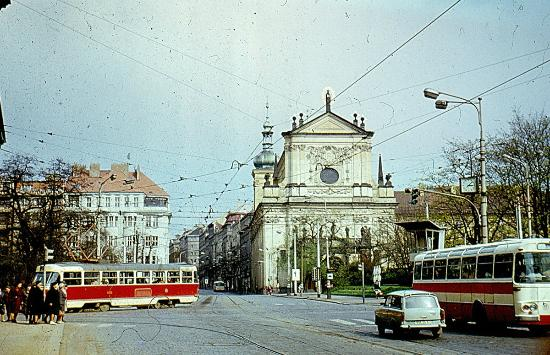 Charles Square: St.Ignatius Church