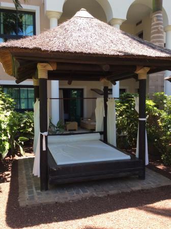 Gran Melia Palacio de Isora Resort & Spa : Day bed