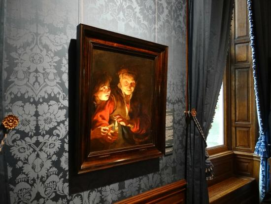 Mauritshuis : Peter Paul Rubens, Old Woman and Boy with Candles, c. 1616 - 1617