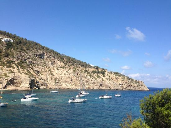Beautiful Cala Llonga sea
