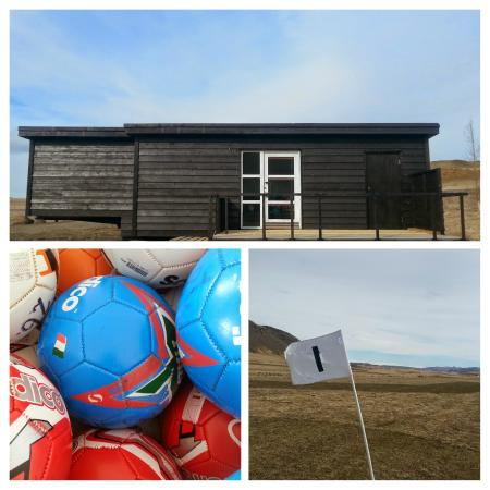 Markavollur Footgolf: Our house