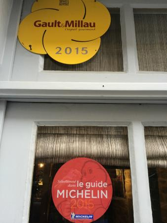 l air du temps : Michelin, gault millau