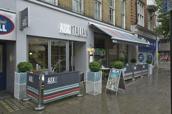 Ask Italian - London - Grafton Way