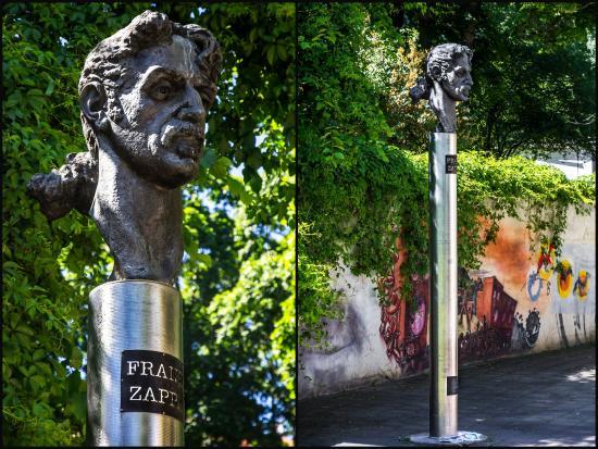 Frank Zappa Statue