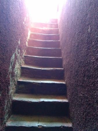 Chevalier de Boufflers: cage d'escalier