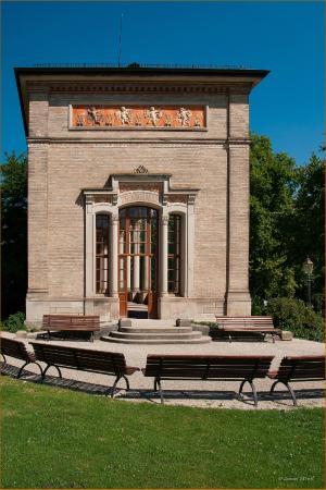 Baden-Baden Kur & Tourismus: Trinkhalle Südansicht