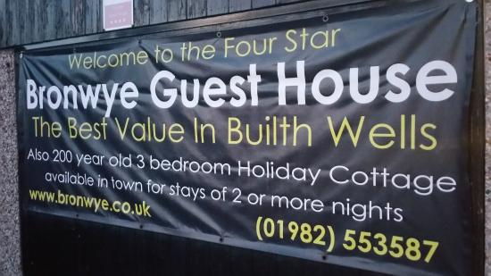 Bronwye Guest House: great value