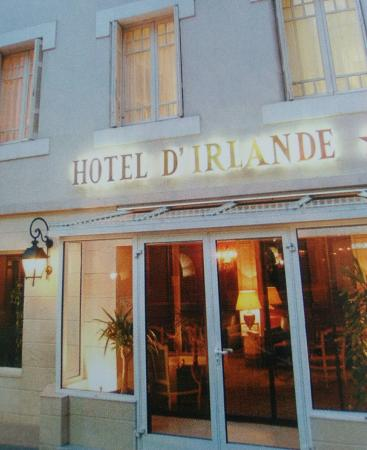 Hotel d'Irlande: Facciata