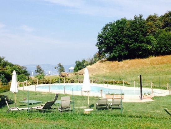 Iseo, Italy: Het zwembad