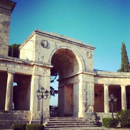 Corfu Sea Gardens: Corfu Town
