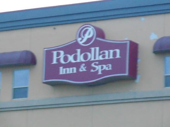 Podollan Inn & Spa: Sign