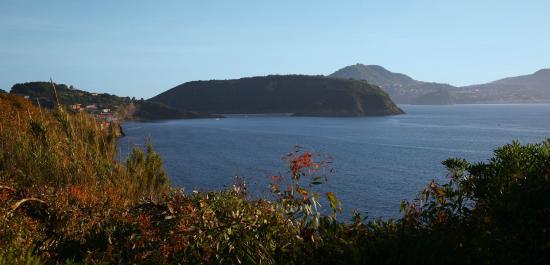Albergo Solcalante : panorama dalla terrazza