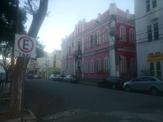 Camara Municipal: vista da praça tiradentes
