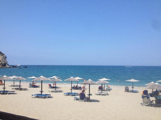 Xanemos Beach: Dallo chalet, che spettacolo!