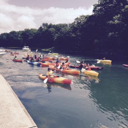 Old Lyme, CT: Kayak group outings are a great way to spend the day