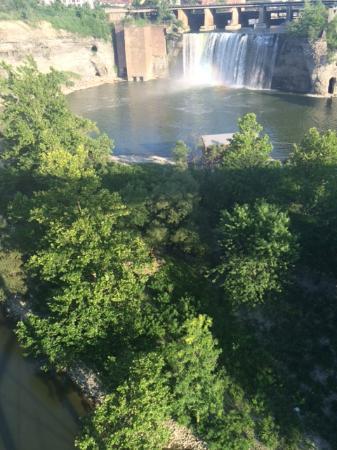 Genesee River's High Falls: amazing falls