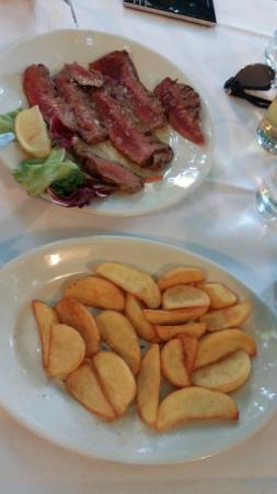 Trattoria Rivabella : Steak