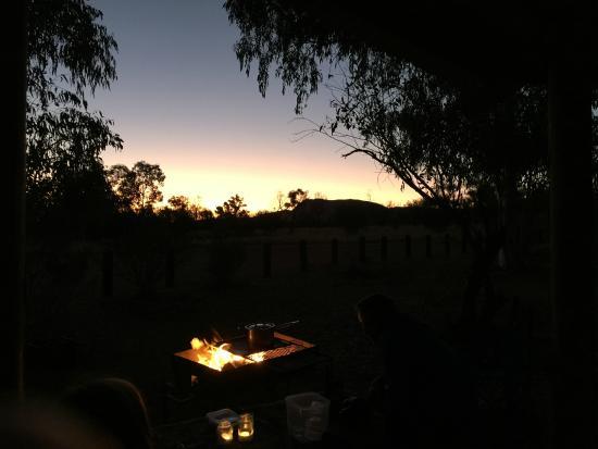 RT Tours Australia: Sunset dinner.