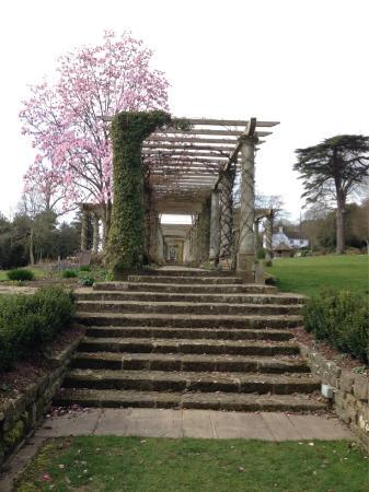 West Dean Gardens: Pergola From Sunken Garden