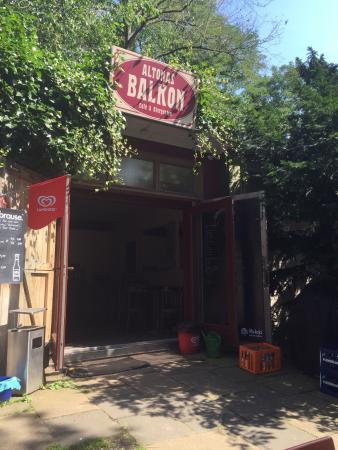 Altonas Balkon