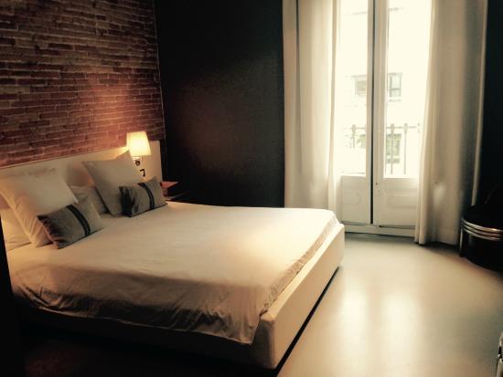 The5rooms: Doppelzimmer (sehr bequemes Bett, tolle Bettwäsche)